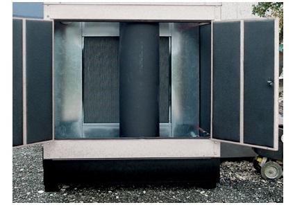 Internal residential silencer for lower